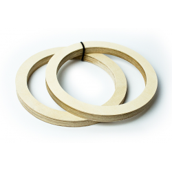 Кольцо под 20 динамик (18 мм.) фанера