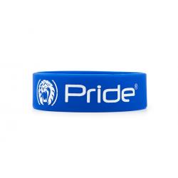 Pride Браслет силиконовый широкий синий