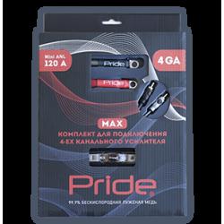 Комплект для подключения 4ех канального усилителя MAX 4Ga